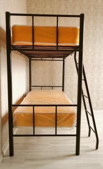 Изготавливаем и продаем кровати металлические двухъярусные, односпальные на металлокаркасе | фото 6 из 6