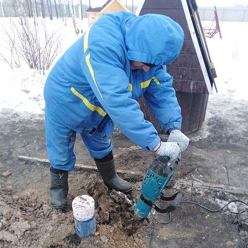 Водоснабжение частного дома от скважины с насосом и кессоном   фото 1 из 6