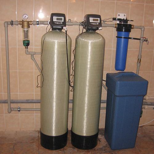 Фильтры очистки воды из скважины в загородный дом | фото 1 из 6