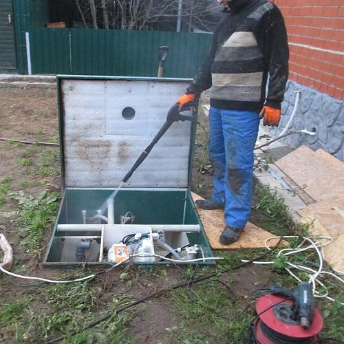 Сервисное обслуживание системы канализации Топас Астра под ключ | фото 1 из 6