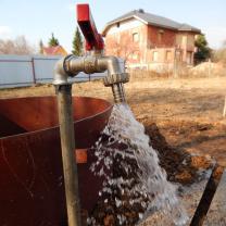 Водоснабжение частного дома от скважины с насосом и кессоном   фото 6 из 6
