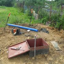 Водоснабжение частного дома от скважины с насосом и кессоном   фото 2 из 6