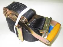 Стяжной ремень - 5 м./50мм с рельсовым захватом (ласточка) | фото 3 из 3