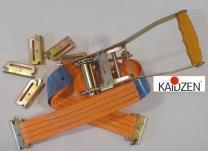 Стяжной ремень с рельсовым захватом (ласточка) - 50мм