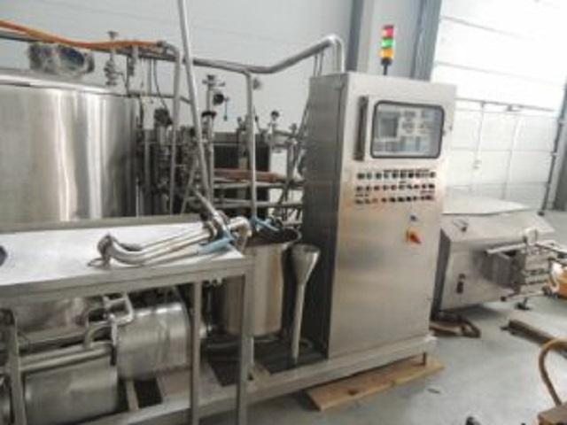 Продается Линия приготовления смеси мороженного | фото 1 из 1