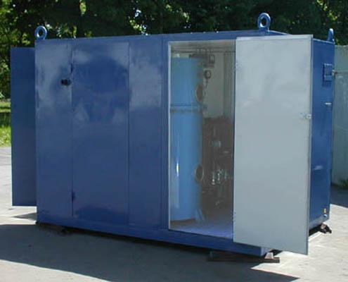 Моноблочная установка подсушки твердой изоляции ELMO-ИНЕЙ-100/250-300(-70) | фото 1 из 1