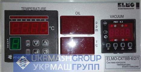 Система контроля температуры и вакуума ELMO-СКТВ-8/1, Система контроля температуры, влагосодержания и вакуума ELMO-СКТВВ-6/2/1 | фото 1 из 2