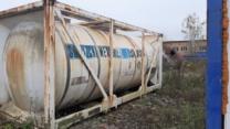 Продается Танк — контейнер нержавеющий, объем -21 куб.м.,