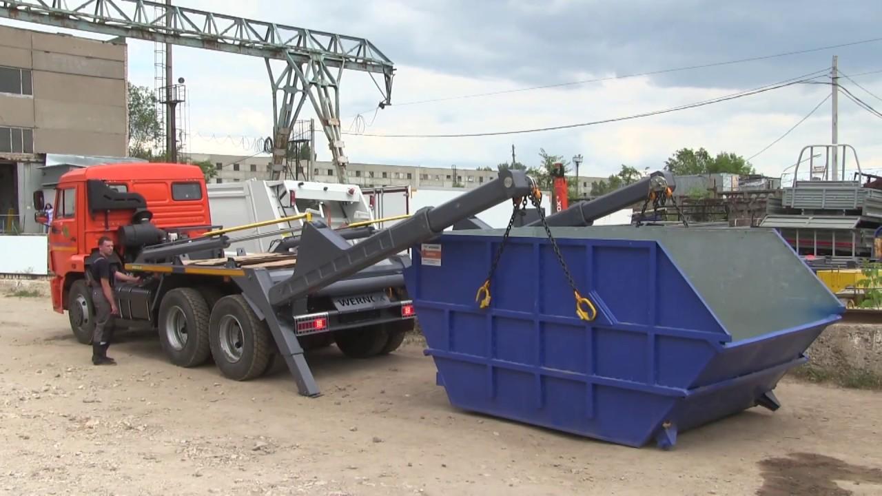 Вывоз строительного мусора  бункером Воронеж | фото 1 из 3