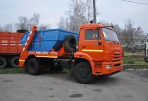 Вывоз строительного мусора  бункером Воронеж | фото 2 из 3