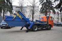 Вывоз строительного мусора  бункером Воронеж | фото 3 из 3