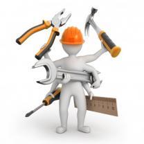 Строительные, сантехнические, отделочные работы