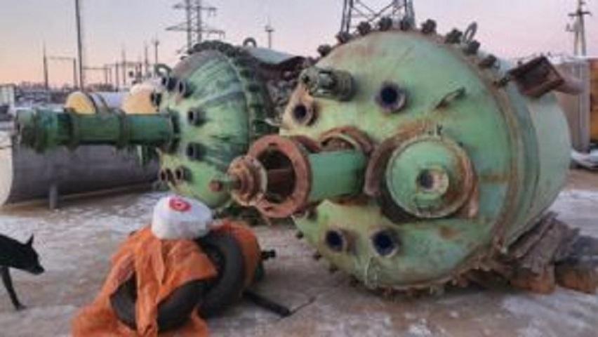 Продаются Реактора эмалированные, объем — 6,3 куб.м.,    фото 1 из 1