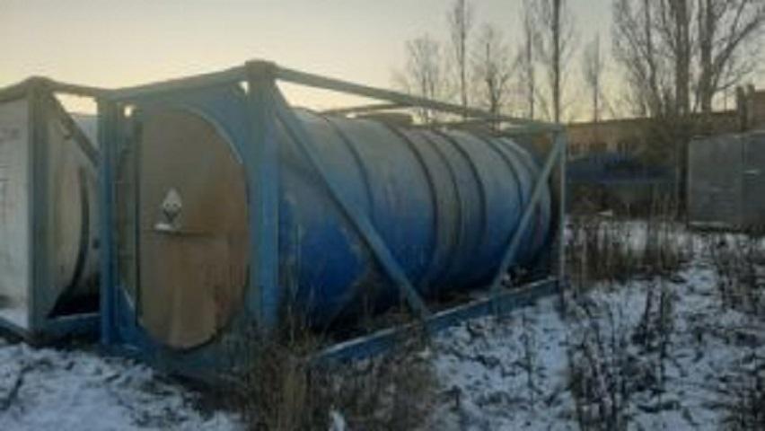 ПродаетсяТанк — контейнер,объем -24 куб.м. | фото 1 из 1