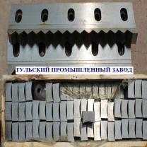 Производство ножей для шредеров. Корончатые ножи любых типоразмеров