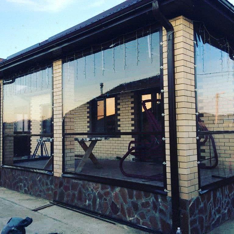 Мягкие окна для беседки, веранды, террасы | фото 1 из 6