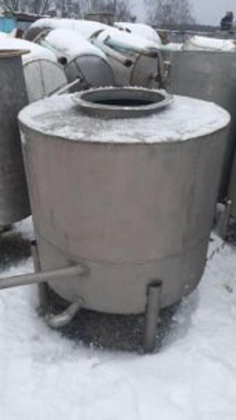 Продается Новая нержавеющая емкость, объем — 1 куб.м.   фото 1 из 1