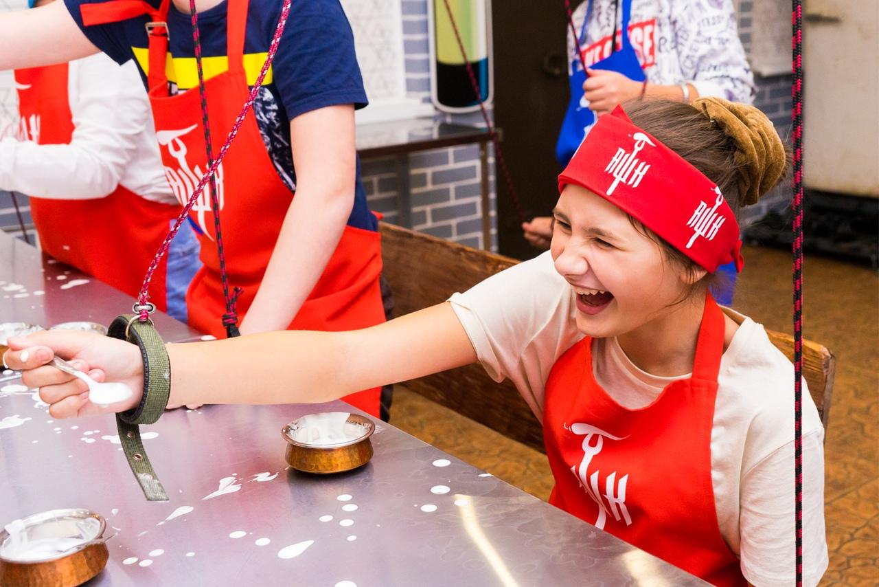 Адское кулинарное шоу, по мотивам популярных кулинарных теле-проектов | фото 1 из 5