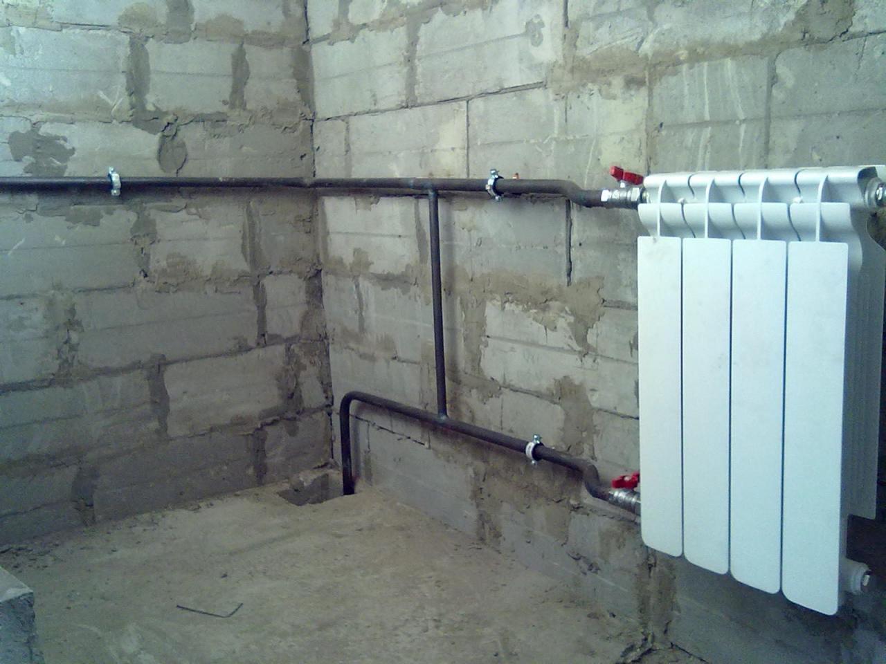 Монтаж отопления, водоснабжения, канализации. | фото 1 из 6