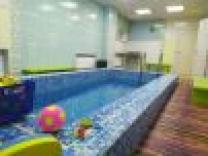 Бассейн для детей с 0 месяцев. Занятия с инструктором