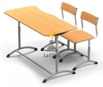 Школьная мебель: парты, стулья | фото 3 из 6