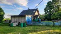 Крепкий домик с хорошей баней в хуторного типа деревушке под Псковом  | фото 6 из 6