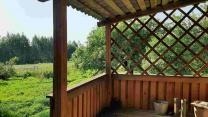 Добротный дом с хоз-вом и баней на хуторе под Псковскими Печорами   фото 5 из 6