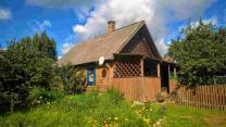 Добротный дом с хоз-вом и баней на хуторе под Псковскими Печорами