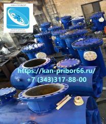 Грязевики трубопровода тепловых сетей абонентские изготовление | фото 2 из 3
