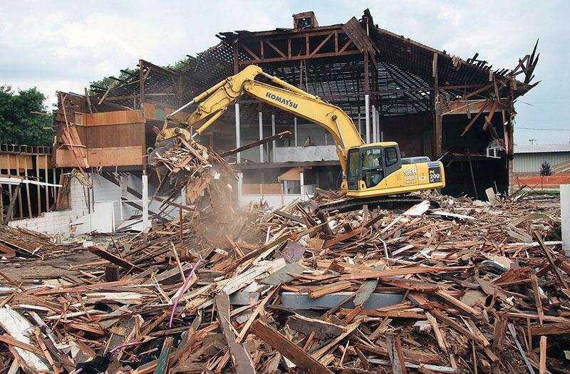Снос зданий и демонтаж сооружений механическим способом   фото 1 из 1