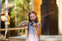 Электроскрипка на праздник   фото 3 из 6