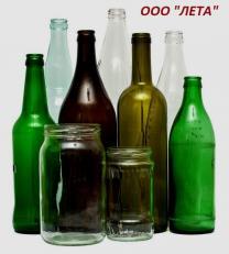 Продам стеклянную бутылку в ассортименте.
