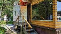 Жилой дом с отличной баней в СНТ Берёзка неподалеку от Псковского озера | фото 2 из 6