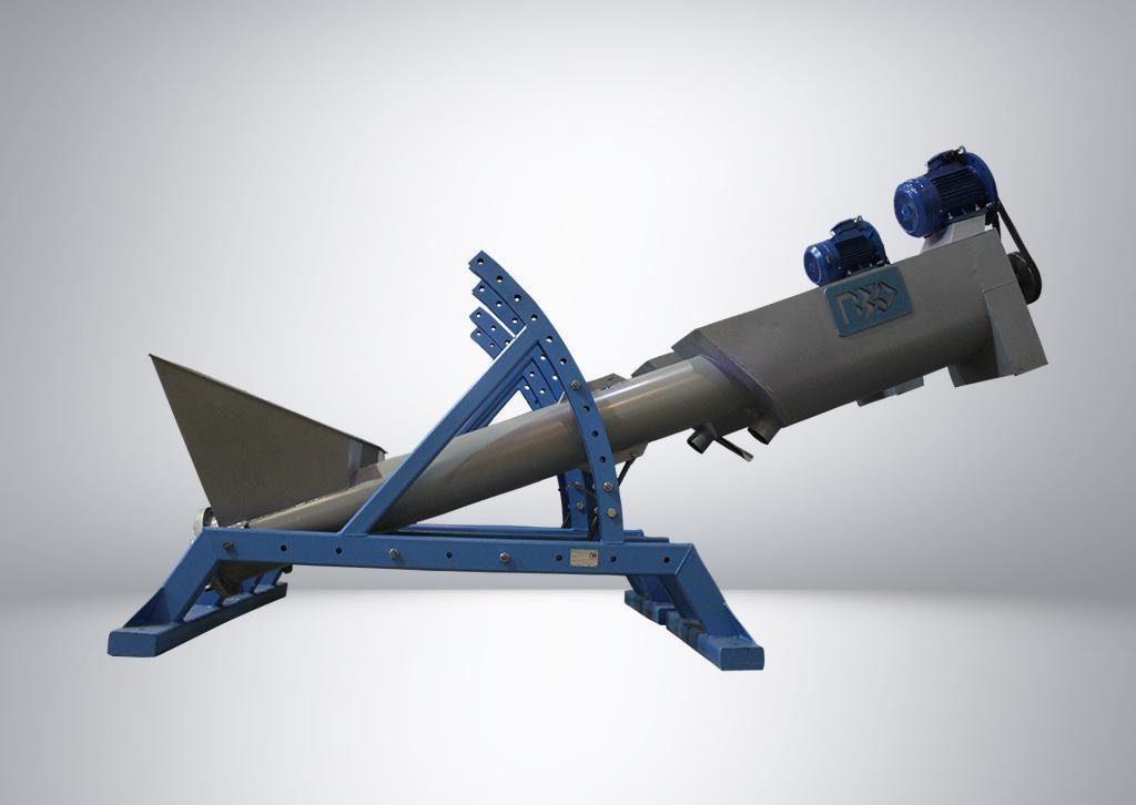 Центрифуга наклонная, оборудование для утилизации пластмасс   фото 1 из 1