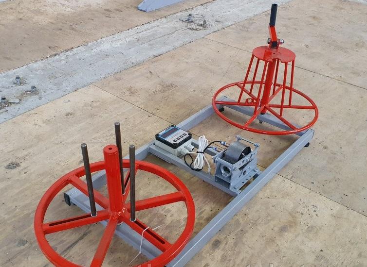 Ручной станок  для перемотки кабеля с бухты в бухту. | фото 1 из 1