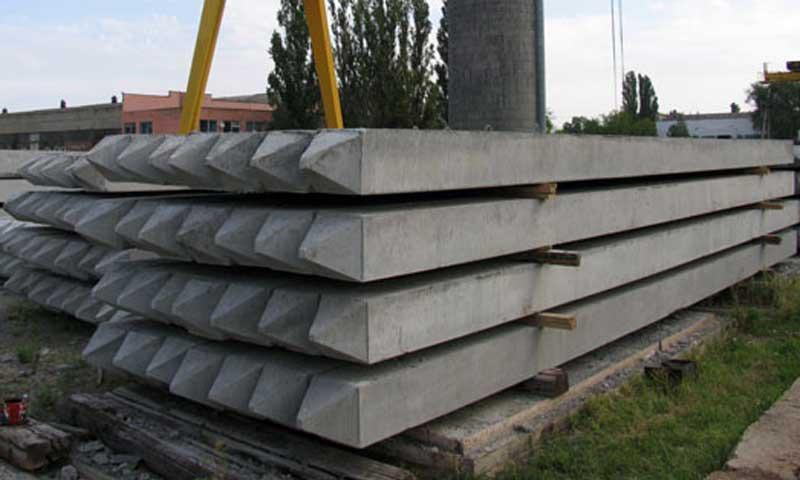 Сваи забивные железобетонные цельные для опор мостов | фото 1 из 1
