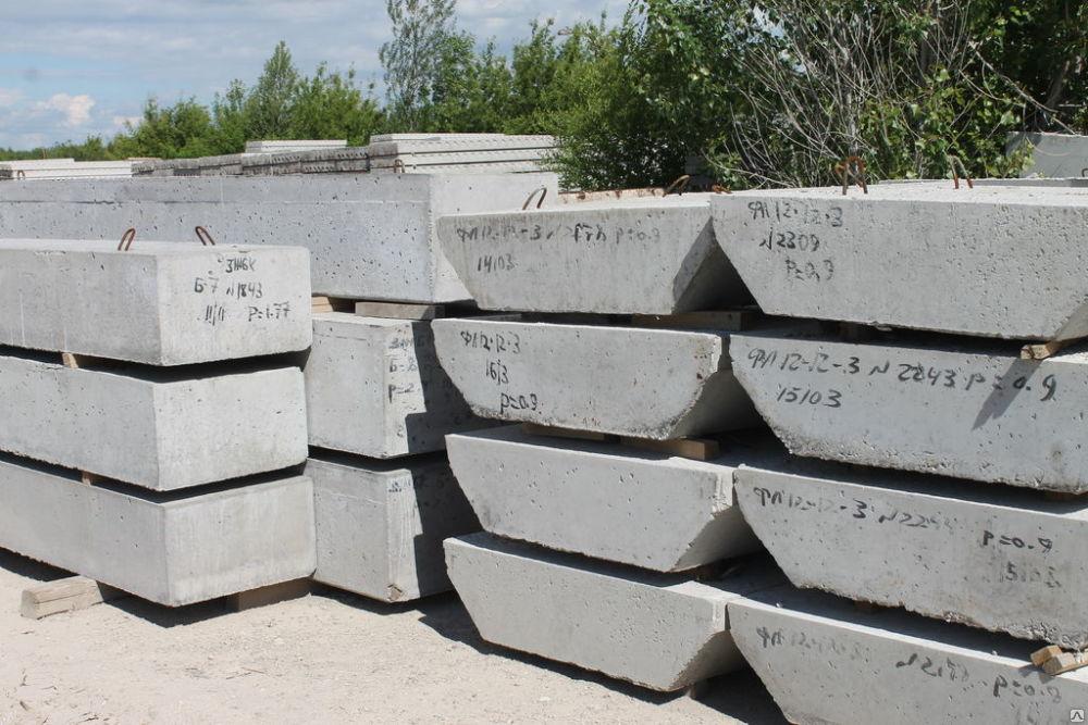 Фундаменты ленточные ФЛ | фото 1 из 1
